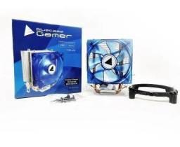 Cooler Universal Bluecase Gamer Led Azul - Loja Natan Abreu