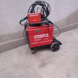 Máquina de solda MIG trifásico 220v