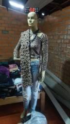 Vendo brechó roupas manequins expositor de vidro 1arara leia