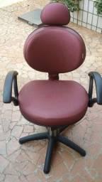 Cadeira/Salão de Beleza Lavatório Carrinho Auxiliar