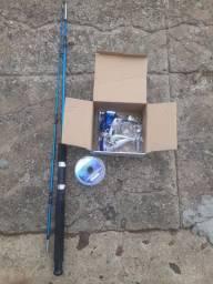 Vendo Vara de Pescar kit completo só no ponto de pescar