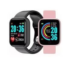 *promoção* Dois Smartwatch Relógio Inteligente D20 Pro Android/ios *promoção*