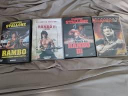 DVDs originais da franquia RAMBO