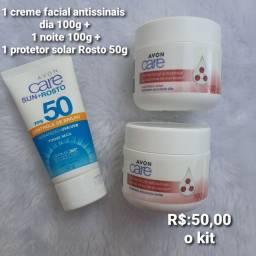 Título do anúncio: Kits faciais   hidrataçao + proteção