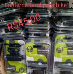Lanterna dianteira para bike