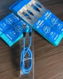 Cabo USB carregador T-C