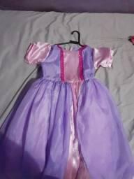 Vestido de princesa  /10 anos