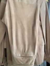 Título do anúncio: Calça de couro original camurça