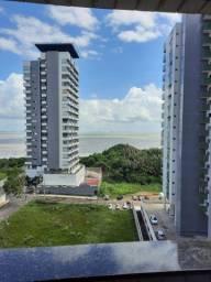 Flat mobiliado para alugar na Ponta do Farol - vista mar
