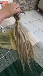 Título do anúncio: Mega hair louro original cabelo humano