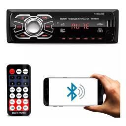 Título do anúncio: Som Para Carro Automotivo Com Bluetooth Rádio Controle MP3 USB Garantia