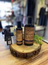 Kit Necessaire Shampoo de Barba + Condicionador Mar e Terra