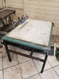 Secador e mesa vácuo serigrafia