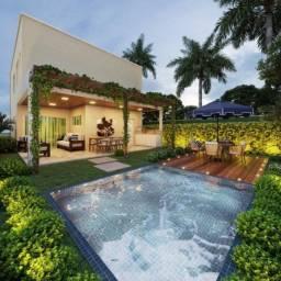 Casa espetacular com piscina no Terras 2- Lote + Construçao #am14