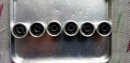 Kinob para amplificador gradiente e um da sintonia do receiver polivox