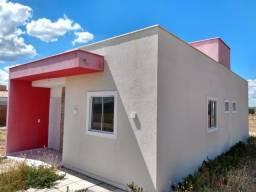 Sua casa financiada em Arcoverde!  Casas com 02 ou 03 quartos.