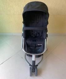 Carrinho/Bebê conforto Satef