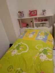 Cama solteiro + colchão 088x188
