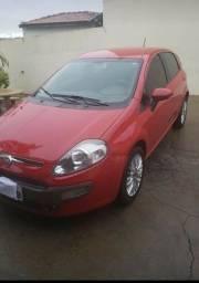 Carro punto essence vermelho 1.6 duologic ano 2013 modelo 2014