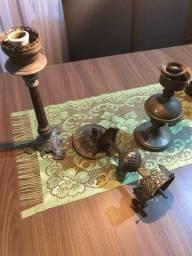 Lustre e luminárias antigas