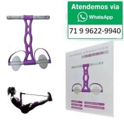 Título do anúncio: Elástico Tensão Exercícios Ombro Biceps Triceps Peito Pernas Alongamento