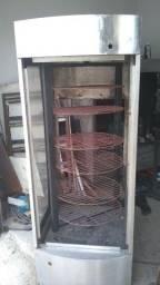 Galeteira progas rotatória de bandeijas