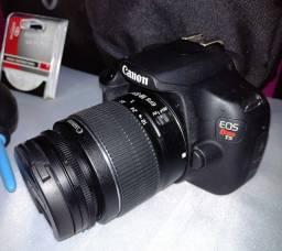 Título do anúncio: Camera fotográfica Dslr Canon modelo EOS T5 + Acessórios