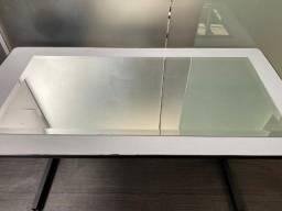Espelho 100x45cm com Bisote