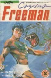 Revista em Quadrinhos - Manga - Cryinf Freeman - Ed.2 de 4 - 116 pg - Nova Sampa - 1990