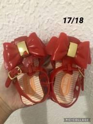Promoção sandálias infantil