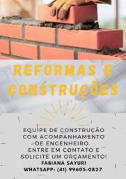 Serviço de construções em geral