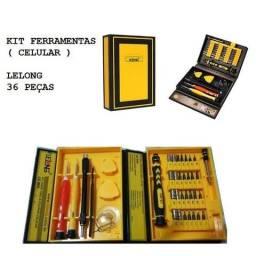 Kit ferramentas 36 peças ( Celular )