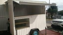 Vendo trailer de lanche ou troco por carro ou moto