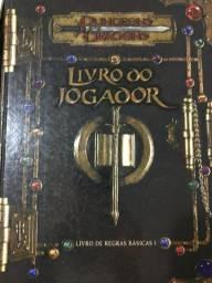 Livros RPG em ótimo estado de conservação