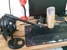 Pedestal Para Microfone de Mesa Novo