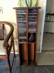 Móvel de madeira Porta CD