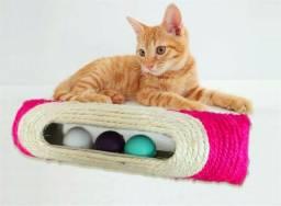 Brinquedo Para Gato Longo Rolamento Sisal C