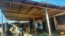Vendo galpão telha amianto e eucalipto