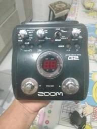Pedaleira Zoom G2, baratinha pra vender logo