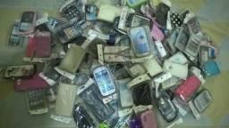 Capinhas para celulares diversos aprox. 130 capinhas