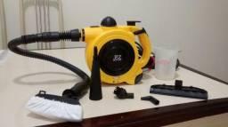 Máquina de limpeza portátil a vapor
