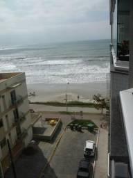 Título do anúncio: Apartamento de 2 quartos com ar e vista para o mar - Meia Praia
