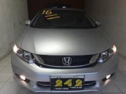 Honda Civic Lxr 2016/com 40.000km - 2016