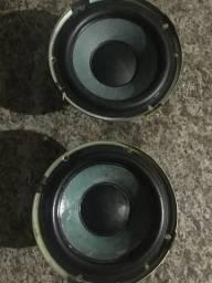 Auto falante 6 polegadas sub 250 rms