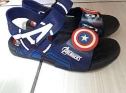 Sandália do capitão América
