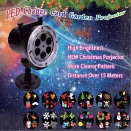 Led Impermeável Natal 12 Padrões Projetor Luzes Laser