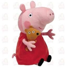 Peppa Pig Pelúcia 30cm Fofinho Brinquedo Infantil