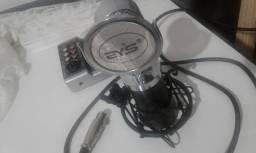 Kit Microfone condensador + mesa interface