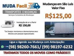 Mudança e Frete! caminhão Baú dentro de São Luiz. R$125,00
