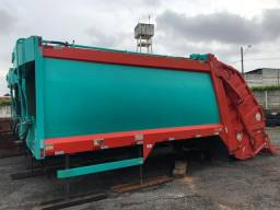 Caixa Compactadora de Lixo 19 M³ Marca Planalto - ZERA!!!